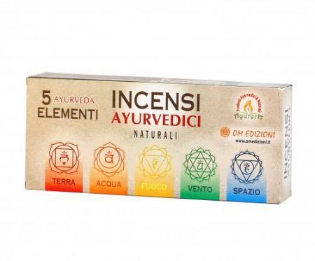 Incensi Ayurvedici Naturali 5 Elementi