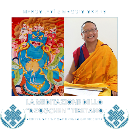 Mercoledì 5 maggio 2021, ore 19h00: Incontro con Abate Tibetano