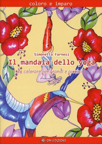 Il Mandala dello Yoga Da colorare per grandi e piccini