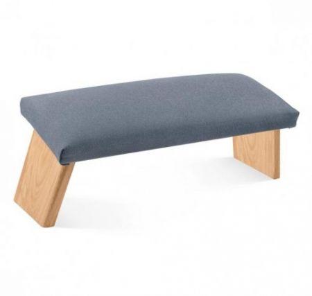 Panca da Meditazione Dharma Standard - Antracite Confortevole seduta imbottita e rivestita