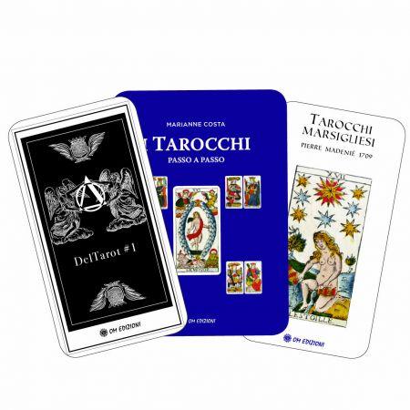 Offerta I Tarocchi passo a passo - Tarocchi Marsigliesi (78 carte) - DelTarot 1 (78 carte da colorare)