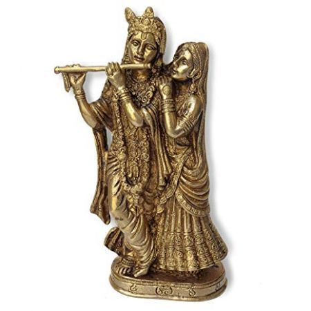 Krishna e Radha statua